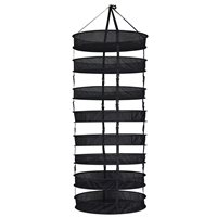 Dry Rack w /  Clips 2 ft 8 Compartment