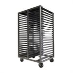 "Aluminum 20 Level Double Chamber Drying Rack 18"" x 26"""
