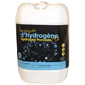 peroxyde d 39 hydrogene 29 20 litres avec fds. Black Bedroom Furniture Sets. Home Design Ideas