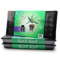 Root Riot plant starter cubes tray (50)