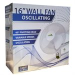 Green Gold Wall Fan 16'' ETL listed
